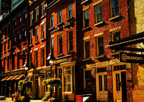 BRICK HOUSES OF SEA PORT AREA IN NYC by Maks Erlikh