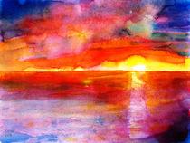 Sonnenuntergang von Irina Usova