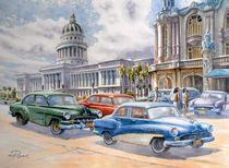 La Habana mit Capitolio by Ronald Kötteritzsch