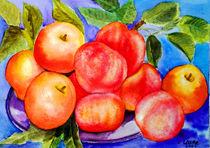 Apfel und Pfirsiche by Irina Usova