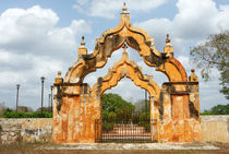 Moorish Double Arch Gate by John Mitchell