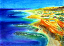 Mediterrane Küste von Irina Usova