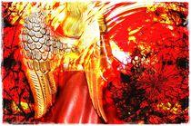 Red Angel by Silvio Vogel