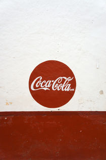 Coca-Cola Sign by John Mitchell