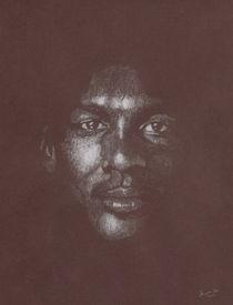 Michael Jordan Charcoal by J. Noe