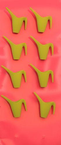 Quietschgrün und Pink von Silke Bicker