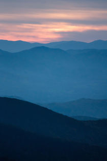 blue ridge parkway mountains by digidreamgrafix