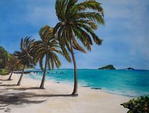 Glossy Bay, Canouan by Wendy Mitchell