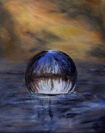 schwimmende Kugel von Elisabeth Maier
