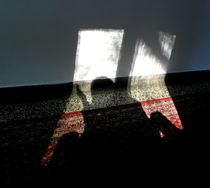 Shadow on the Wall and Carpet by bebra