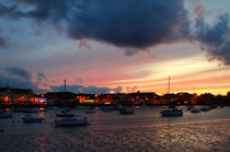 Dungarvan Harbour Sunset by Neung Nukul