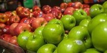 colorful apples von digidreamgrafix