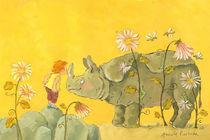 Ein Kuss fürs Nashorn von Annette Swoboda