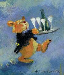 Champagnerbär by Annette Swoboda