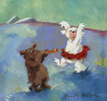 Tanzbären by Annette Swoboda