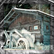 Tyrol - Wacht - Old Watermill von Leopold Brix