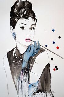 Audrey Hepburn von Ismeta  Gruenwald
