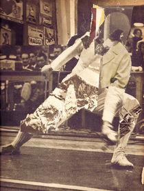 """street fencer"" by Yann Faucon"