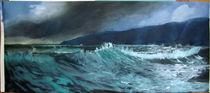 Rough Sea III von Gaby Bühler