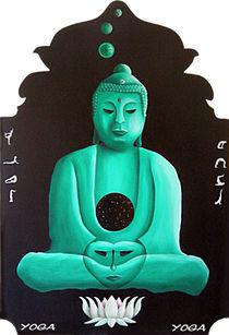 Yoga-Buddha von Karsten Kemter
