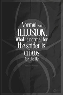 Morticia Addams Graphic Quote - Black  by Hey Frank!