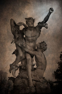 Mercury carrying Eurydice to the Underworld by loriental-photography