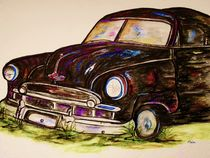 Car with Character von eloiseart