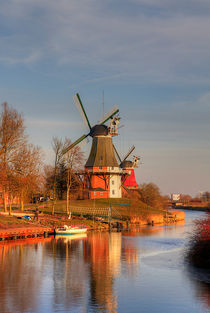 Windmühlen by Michaela Rau