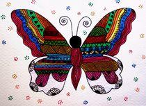 Azetic Butterfly by Priyanka Rastogi