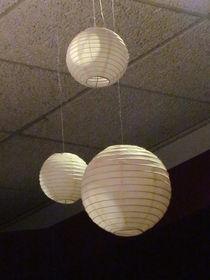 Three White Orbs by Guy  Ricketts