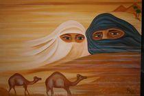 13  Die Wüste...lebt ! Arabische Verschleierung von Petra Heim -petribiza-