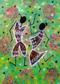 Dancing Couple von Priyanka Rastogi