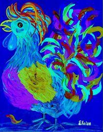 Rooster Blues by eloiseart