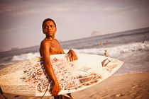 the surfer by Kay Fochtmann