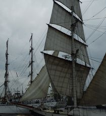 Masten und Segel von Peter Norden
