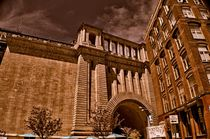 Manhattan bridge in NY von Maks Erlikh