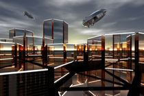 Octagon City VI von dresdner