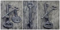 decorative vintage keys II von Priska  Wettstein