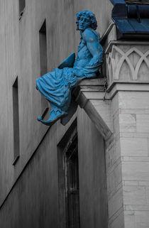 Blue Beggar by Octavian Iolu