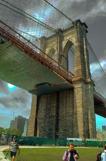 Brooklyn bridge 1000 by Maks Erlikh