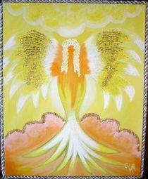 30  Engel....Lichtgestalt des inneren Tempels by Petra Heim -petribiza-