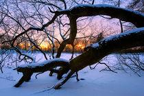 Winter on Fire von Keld Bach