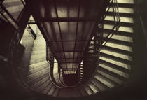 old staircase by marunga
