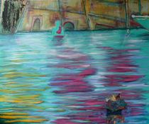 Wassergebet- Puja im Ganges by Mehlika Tanriverdi