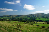 Great Ridge Hills, from the Pennine Way by Rod Johnson