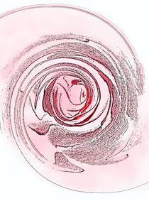 Stilisierte Rose von Ingrid Eichhorst