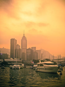 Causeway Bay at Sunset by loriental-photography