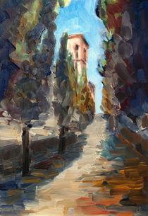 In der Toskana by Ellen Fasthuber-Huemer