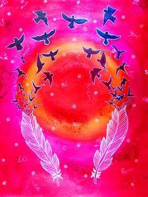 Birds With Feathers by Priyanka Rastogi