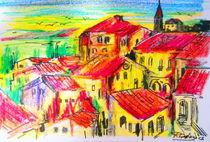 I tetti di Montalcino by Roberto Gagliardi